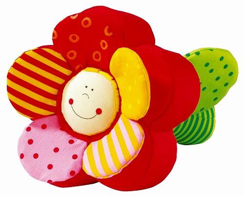 布のおもちゃ ハバ社 ラトル