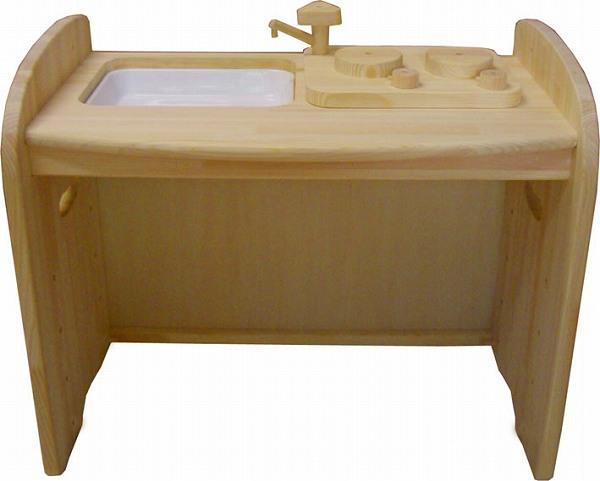 ままごと・キッチン 木遊舎 【プレゼント付き】木遊舎 ひのきキッチンテーブル