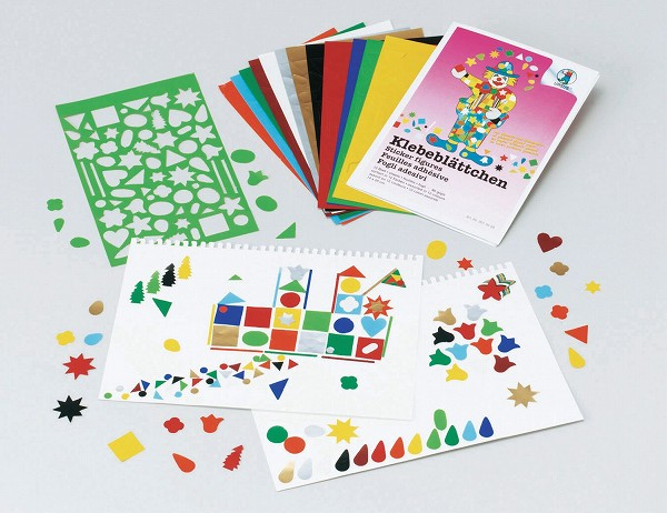 作って遊ぶ ブントパピア社(BUNTPAPIERFABRIK) 型抜き紙セット