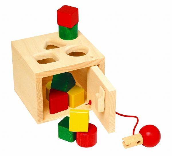 木のおもちゃ キーボックス