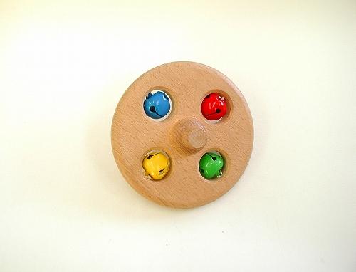動きを楽しむおもちゃ 別売り NICスロープパーツ・鈴つき円盤