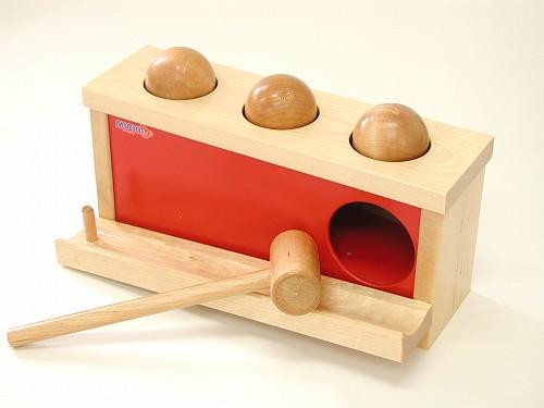 叩くおもちゃ ミッキィ社(MICKI) ノックアウトボール