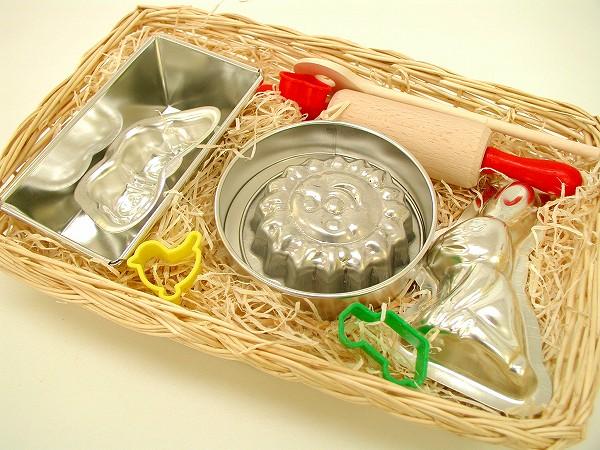 ままごと・調理器具 ケーファー社(Gluckskafer)  お菓子作りセット B