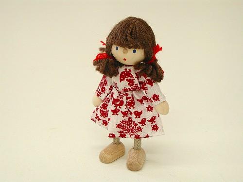 ドールハウス・人形 ヘアヴィック社 ドールハウス用人形・女の子