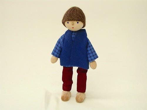 ドールハウス・人形 ヘアヴィック社 ドールハウス用人形・お父さん