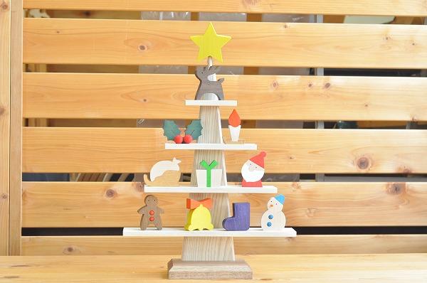 クリスマスインテリア ステージツリー ナチュラル