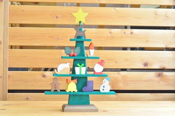 クリスマスインテリア ステージツリー グリーン