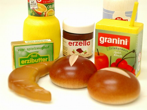 ままごと・食材 エリツィ社(Erzi) Erzi朝食セット 箱入り