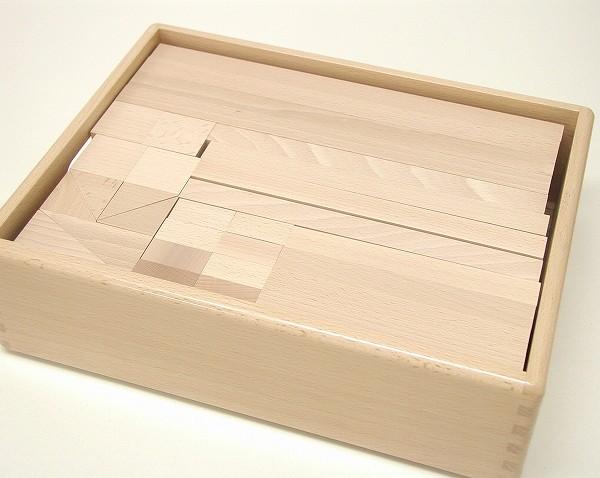 白木の積木 積木セット