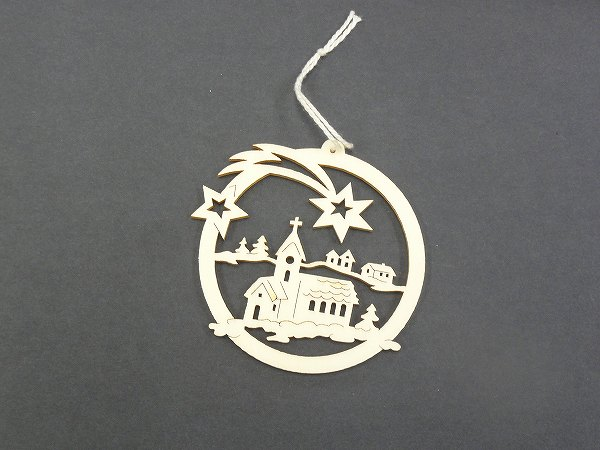 クリスマスオーナメント ヴァルトファブリック社(Waldfabrik) オーナメント・教会