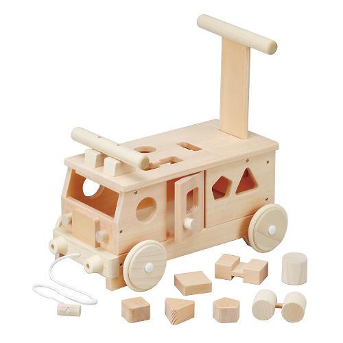 乗り物 平和工業 森のパズルバス