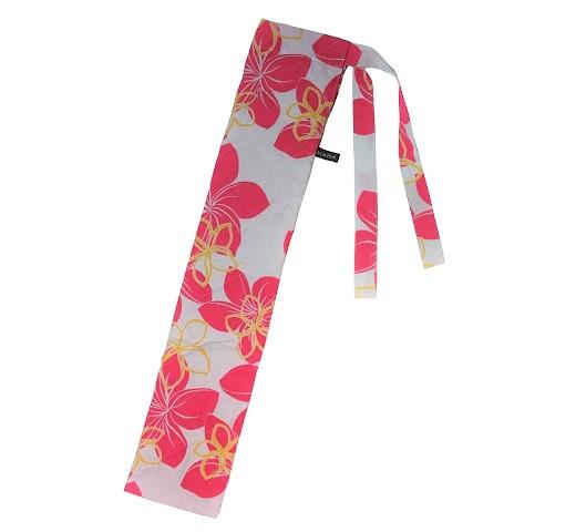 白×ピンク キルティング中わた付き プイリケースset-062