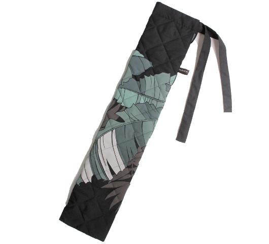 黒×グレー キルティング中わた付き プイリケースset-058