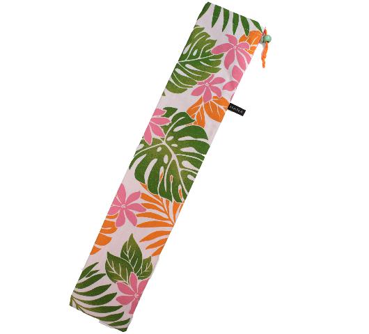 白×ピンク緑 スタンダードタイプ プイリケースset-064-pc-s