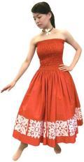 SD-R  HANAALOHA オリジナルシャーリングドレス(赤)