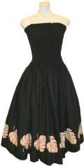 SD-B  HANAALOHA オリジナルシャーリングドレス(ブラック)