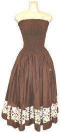 SD-CHA HANAALOHA オリジナルシャーリングドレス(茶)