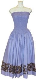 SD-V  HANAALOHA オリジナルシャーリングドレス(パープル)