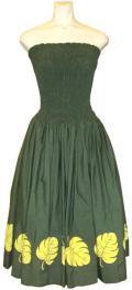 SD-G  HANAALOHA オリジナルシャーリングドレス(グリーン)