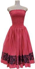 SD-P  HANAALOHA オリジナルシャーリングドレス(ピンク)