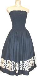 SD-N  HANAALOHA オリジナルシャーリングドレス(ブルー)