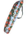 set-022-paucase  パウケース    水色地に オレンジのハイビスカス模様が美しいパウケース!!