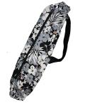 set-036-paucase  パウケース    黒地に白とグレーのハイビスカス模様がすてきなパウケース!!