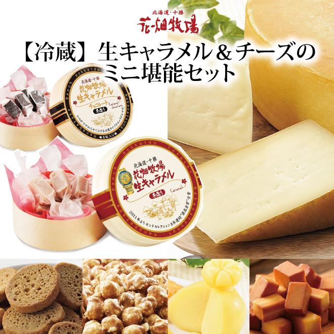 【冷蔵】生キャラメル&チーズミニ堪能セット 商品