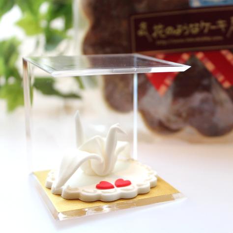 鶴のシュガークラフト