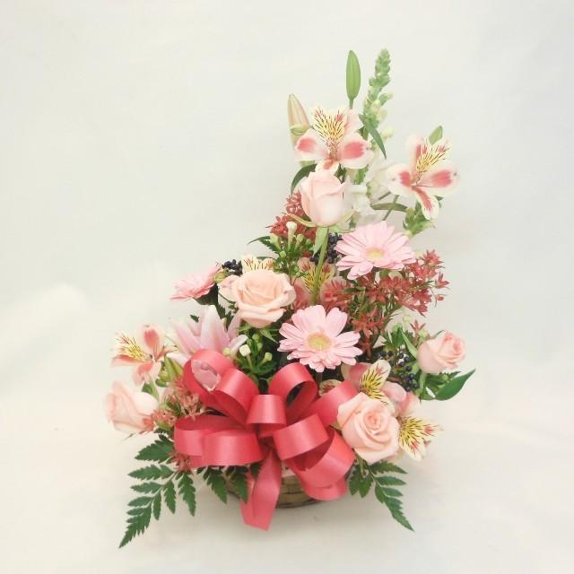 【アレンジメント】ピンク系