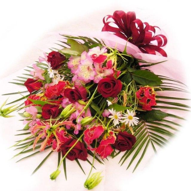 【花束】赤バラ中心おまかせ 7000円