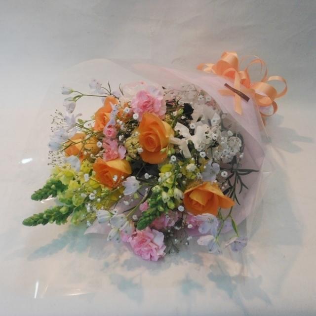 【花束:スタンダード】パステル系