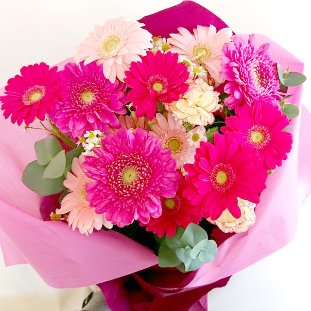 ES-014 ガーベラ(ピンク)花束