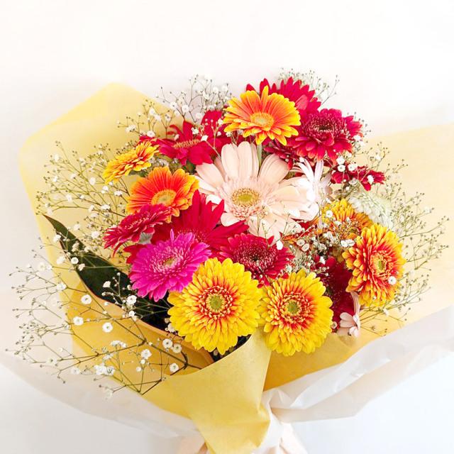 ES-015 ガーベラ(ミックス)花束