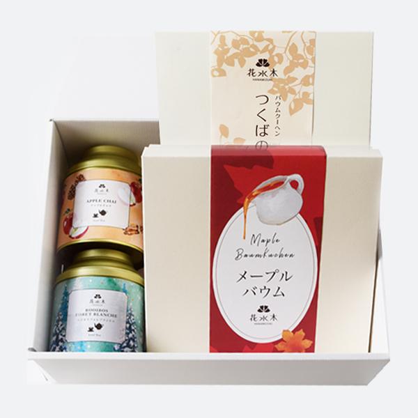 冬ギフト 紅茶とバウム