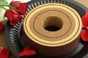 バウムクーヘンチョコレートイメージ