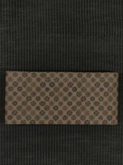 古渡(こわたり)更紗文様 型染め 半巾帯