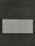 掠れ縞文様 信州紬 半巾帯