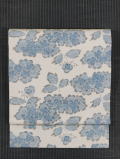 牡丹唐草文様 型染め 名古屋帯
