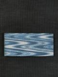 波縞文様 絣織り 半巾帯