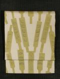 菓子木型文様 型染め 名古屋帯