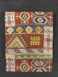インカ幾何学文様 西陣織 名古屋帯