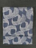 鳳凰文様 型染め 真綿紬 名古屋帯