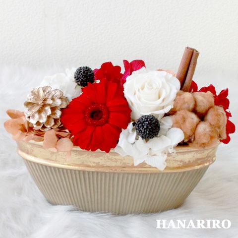 クラシックメリー(白)/プリザーブドフラワー【送料無料】
