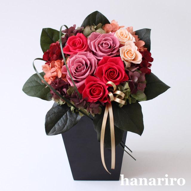 彩り(ピンク)/プリザーブドフラワー【送料無料】