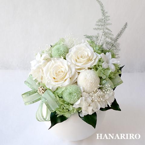 和み(L)/お悔み・お供え/プリザーブドフラワー【送料無料】