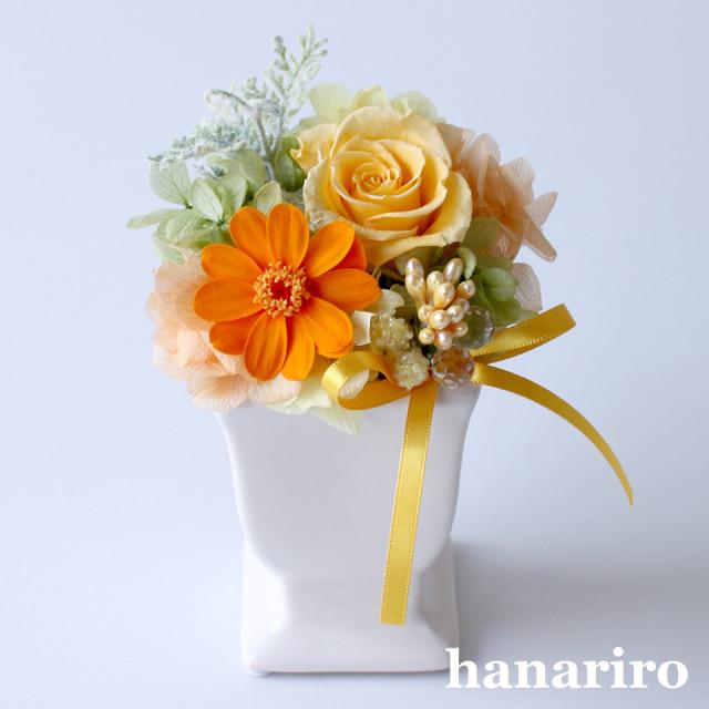 プリモ(黄色オレンジ系)/プリザーブドフラワー【送料無料】