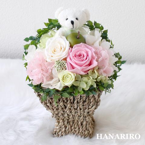 プリクマ(淡ピンク)/お悔み・お供え/プリザーブドフラワー【送料無料】