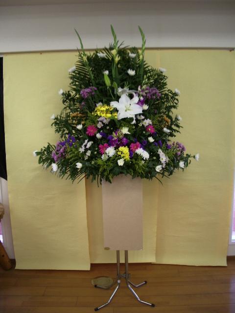葬儀用供花 1段