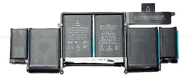 バッテリ:純正新品Apple製MacBook Pro 13'' Retina A1502 2015 Best Type等用(A1582)国内発送